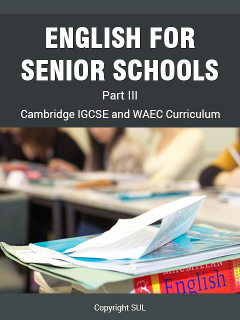 English part III for Senior Schools